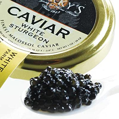American White Sturgeon Caviar - 0.5 Oz from Marky's Caviar