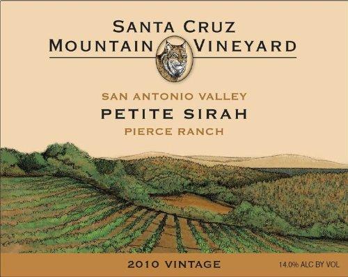2010 Santa Cruz Mountain Vineyard Petite Sirah 750 Ml