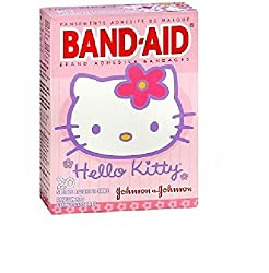 Band-Aid - Children s Adhesive Bandages Disney Princess Assorted Sizes 20 ea Hello Kitty 20