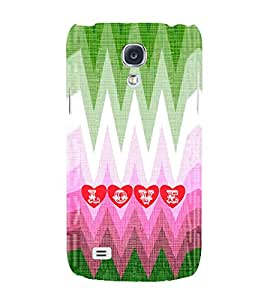 EPICCASE funky love Mobile Back Case Cover For Samsung Galaxy S4 Mini (Designer Case)