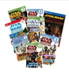 img - for Dk Reader Star Wars Set (7) : The Clone Wars: Watch Out for Jabba the Hut; Luke Skywalker's Amazing Story; Journey Through Space; Star Pilot; Galactic Crisis ; Beware of the Dark Side; Epic Battles (Book Sets for Kids : DK Reader Level 1 - 4) book / textbook / text book