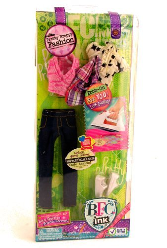 BFC, Ink Doll Fashion Set (Small Doll) - Best Friends Club Pretty Preppy Fashion Set - 1