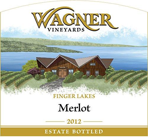 2012 Wagner Vineyards Merlot 750 Ml