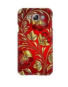 Pick Pattern Back Cover for Samsung Galaxy E7 SM-E700