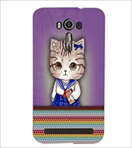 PrintDhaba Quote D-3760 Back Case Cover for ASUS ZENFONE 2 LASER ZE550KL (Multi-Coloured)