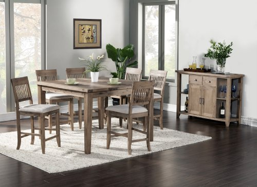 Aspen Extension Pub Table With Butterfly Leaf