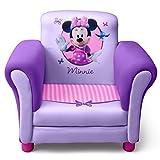 Metro Shop Delta Minnie Mouse Purple Upholstered Children's Chair-Purple Upholstered Chair