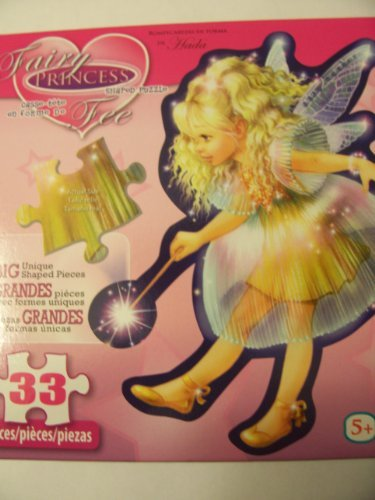 Shaped Puzzle ~ Fairy Princess (33 Pieces)