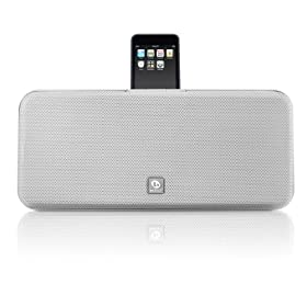 51y%2BjFuWhWL. AA280  Boston Acoustics Horizon I DS2 iPod Dock w/ Speaker System In White   $99 Shipped