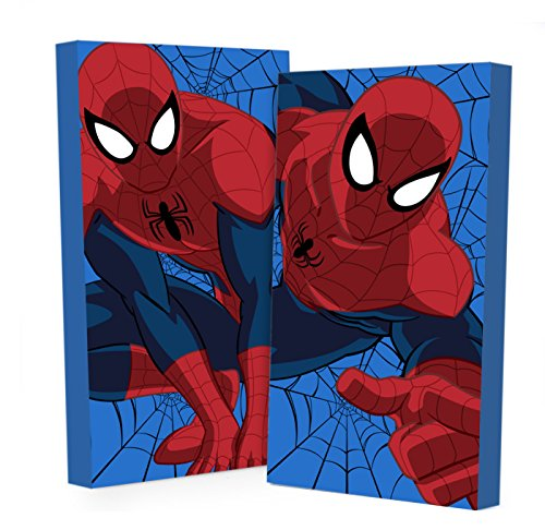 Marvel Spiderman Glow in The Dark Wall Art (2-Pack)