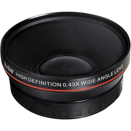 52 mm .43x Weitwinkel Vorsatz mit Makrolinse für Nikon D3000, D3100, D3200, D3300, D5000, D5100, D5200, D5300, D7000, D7100, D3, D4, D40, D40x, D50, D60, D70, D70s, D80, D90, D100, D200, D300, D600, D610, D700, D800 & D800E SLR-Digitalkamera