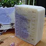 French Lavender Soap with Rose Petals and Shea Butter ~ Natural Handcrafted...