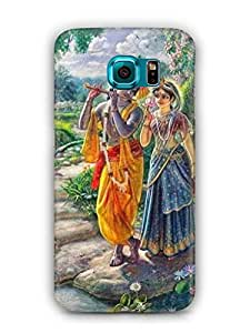 Cover Affair Lord Krishna Printed Back Cover Case for Samsung Galaxy S7 Edge