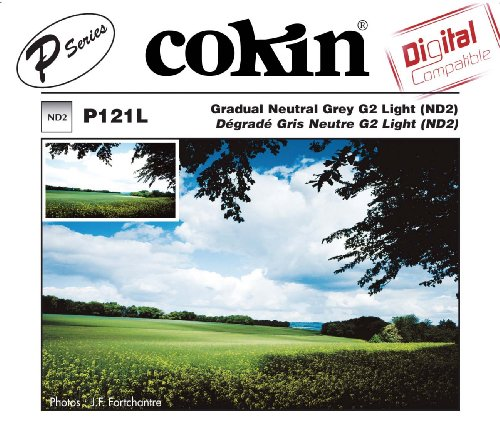 Cokin P121L Grad Grey G2 LT (ND2) Square Filter