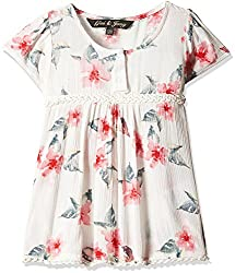 Gini & Jony Baby Girls' Blouse Top (122030362106 C101_Bright White_12M)
