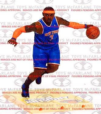 McFarlane Toys NBA Series 23 Carmelo Anthony Action Figure