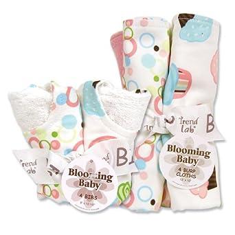 Trend Lab 20929 BQT ST- Cupcake - BIB & BURP