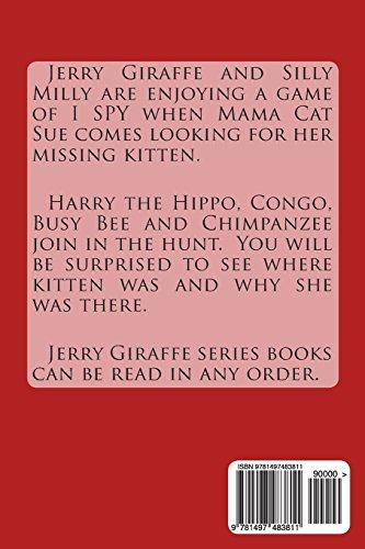 Jerry Giraffe and the Missing Kitten: Book 6: Volume 6 (Jerry Giraffe Series)