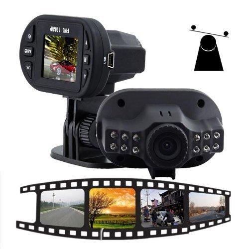 VCOER Auto Kamera Car Recorder Vehicle Blackbox DVR Video Camera G sensor HD Überwachung Unfall Recorder Auto Kamera DVR KFZ Recorder Überwachungskamera LED Nachtsicht HDMI HD1080P C600