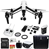 DJI Inspire 1 Starter Kit. Includes SanDisk Extreme Plus 32GB UHS-I/ U3 Micro SDHC Memory Card (SDSDQX-032G-U46A) + High Speed Memory Card Reader + Microfiber Cleaning Cloth + SSE FURY SPEAKER