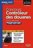 Concours Contrôleur des douanes - Catégorie B - Tout-en-un - Concours 2015-2016