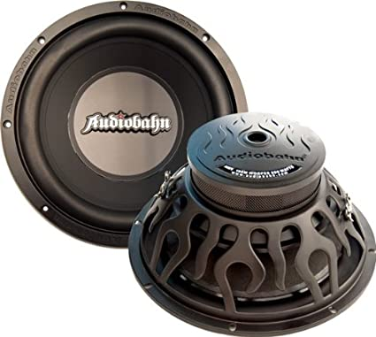 "AudioBahn AMV125M Audiobahn 12"" Wooofer 780W Max 4 Ohm DVC"