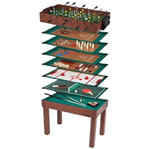 Ultrasport Game Table 12 in 1 Game Zone - table size 42 x 24 x 31