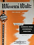 img - for Missouri Waltz (For the Conn Organ) book / textbook / text book