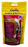 Goldfish and Koi Floating Food, Small Pellet, 7-Ounce