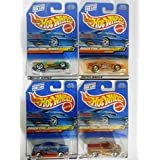 Hot Wheels 2000 Snack Time Series Set Of 4 Die-cast Vehicles