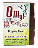 O My!Tm Dragons Blood Goat Milk Soap All Natural, Palm Oil Free, Handmade Soap Made In Usa