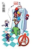 Avengers #1 Baby Variant Cover Comic Book