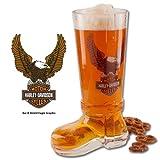 Harley-Davidson® Bar & Shield Glass Boot