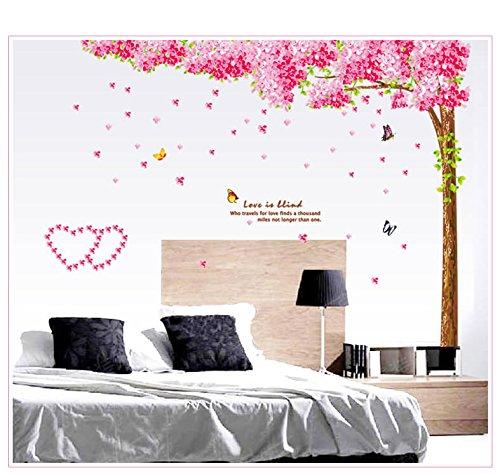 Oren Empower 2pc/set Extra Large Hot sale removable vinyl Cherry Blossom wall sticker x 220 cm)