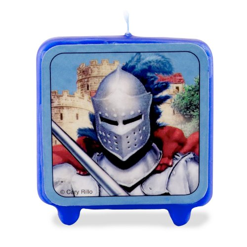 Creative Converting - Knight Molded Candle - 1