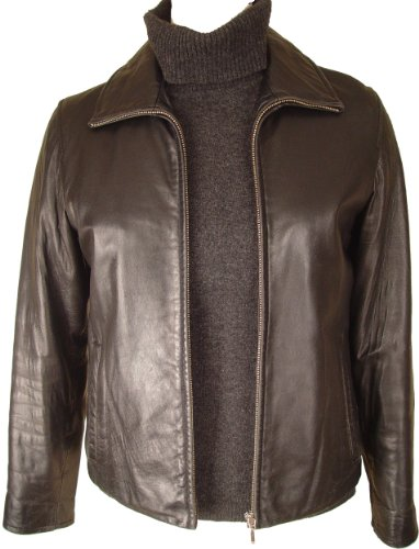 Paccilo FREE tailoring Womens 4016 Lamb Scuber Leather Jacket