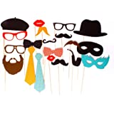 DOIY Photo Booth Props Pack Of 20