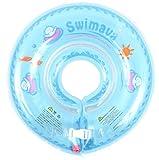 Swimava 【日本正規品】うきわ首リング (ブルー) SW120BL