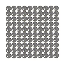 "VXB Brand G23 Bearing Balls, Chrome Steel, 1/4"" Diameter (Pack of 100)"