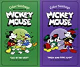 img - for Walt Disney's Mickey Mouse Color Sundays Gift Box Set (Vol. Vols. 1 & 2) (Walt Disney's Mickey Mouse) book / textbook / text book