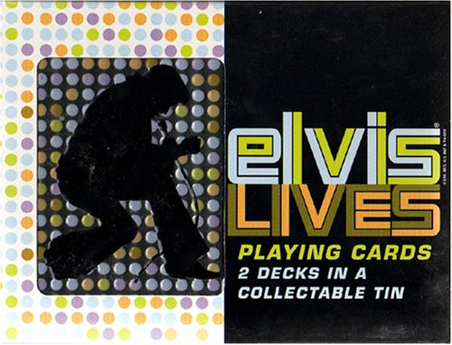 Buy Elvis Presley 2 Decks Playing Cards in Tin – NEW
