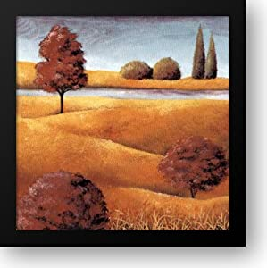 Field And Stream IV 16x16 Framed Art Print by Serine, E.
