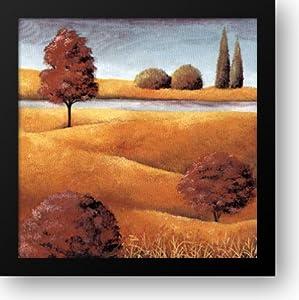Field And Stream IV 16x16 Framed Art Print by Serine, E.