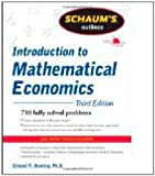 img - for Schaum's Outline of Introduction to Mathematical Economics by Dowling, Edward. (McGraw-Hill,2011) [Paperback] 3rd EDITION book / textbook / text book