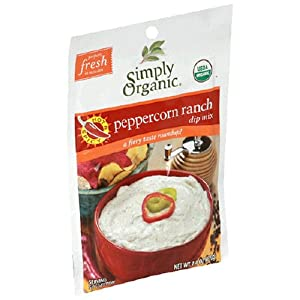Simply Organic Certified Organic Spicy Peppercorn Ranch Dip from Simply Organic
