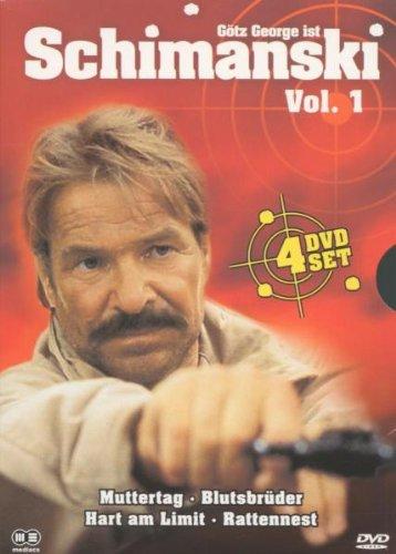 Schimanski Vol. 1 (4 DVDs: Muttertag, Blutsbrüder, Hart am Limit, Rattennest)
