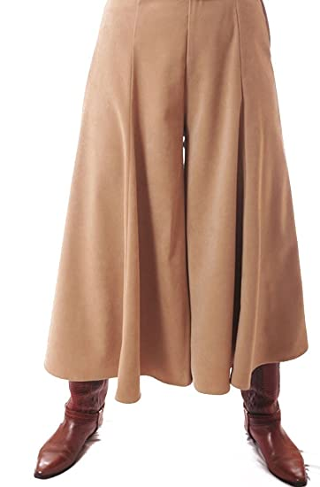Western gaucho riding skirt