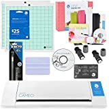 Silhouette Cameo Cutter Starter kit with Free Vinyl Starter Kit- Includes 2 Blades 2 mats, $25 Download Card, Squeegee, X-Acto Knife, and a Bonus Vinyl Starter Kit
