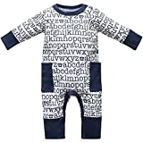 Baby Strampler Schlafanzug 0-24 Monate ABC