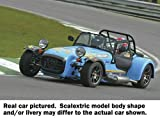 SCALEXTRIC CAR C3133 CATERHAM 500 Blue